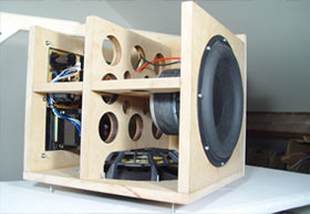 DIY Audio projects including speaker and subwoofer designs
